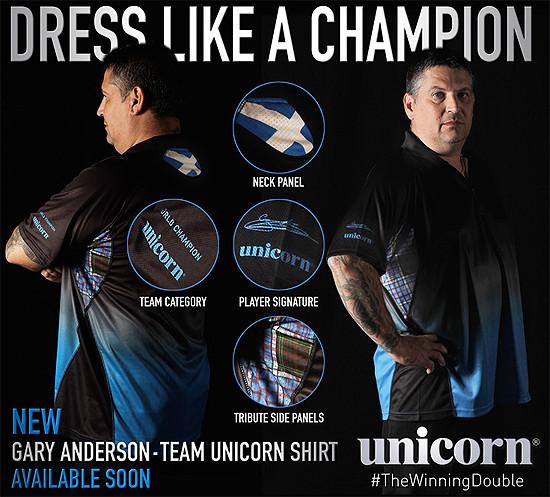 UNICORN Gary Anderson Shirt