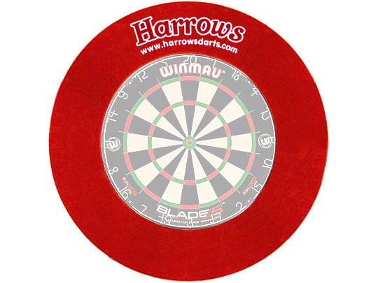 HARROWS Board Surround rot für Bristle Boards