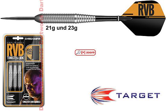 TARGET RVB Raymond van Barneveld Tungstenlook