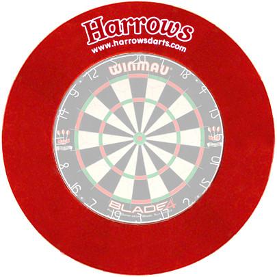 HARROWS Board Surround rot für WINMAU/ONE80 Boards