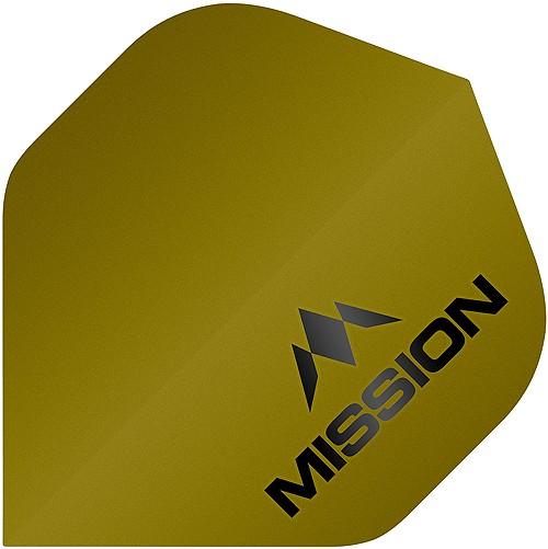 MISSION Logo 100 No2 Matt Gold