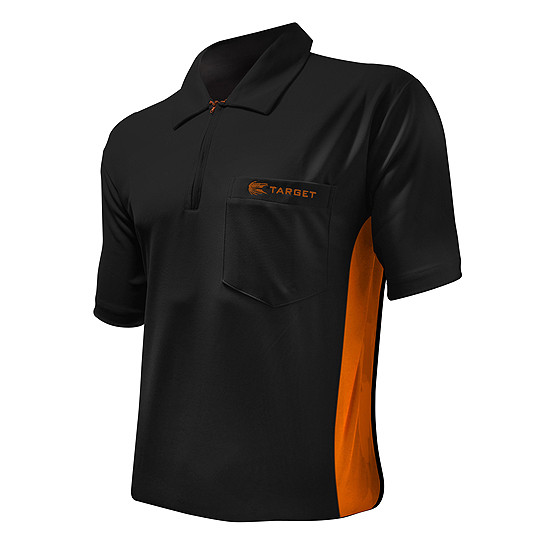 TARGET Hybrid Shirt black/orange