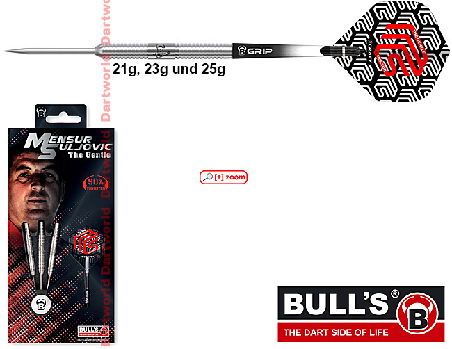 BULLS Champions Mensur Suljovic (The Gentle) Darts