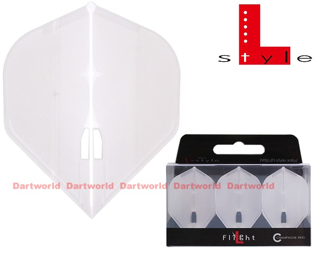 L-STYLE Champagne-Flights L1 Standard Clear-White