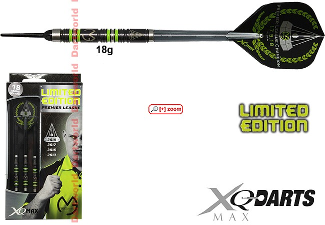 XQ-MAX Michael van Gerwen Premier League Limited Edition