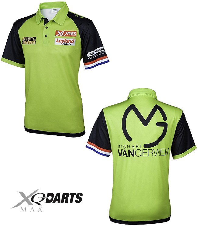 XQ-MAX DARTS Michael van Gerwen Matchshirt Replica