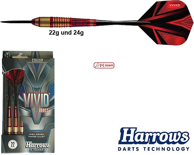 HARROWS Vivid red