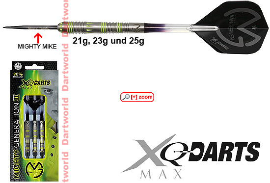 XQ-MAX Mighty Generation II (Michael van Gerwen)