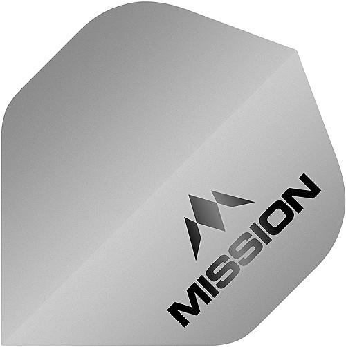 MISSION Logo 100 No2 Matt Silver
