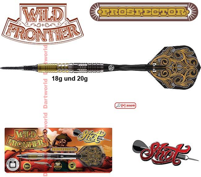 SHOT Wild Frontier Prospector 90% BW