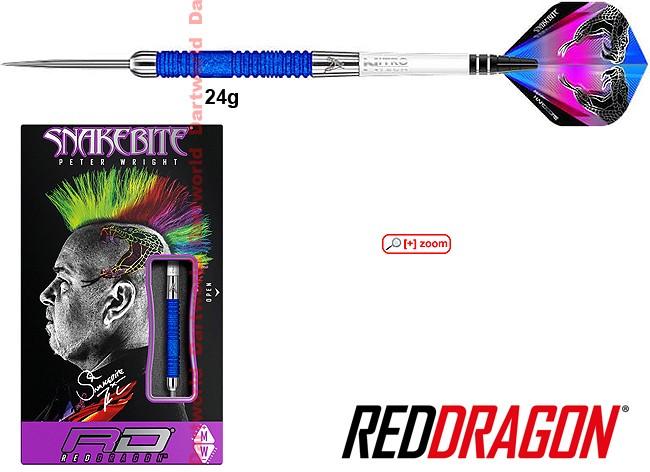 REDDRAGON Peter Wright Snakebite E11 Element Blue Edition