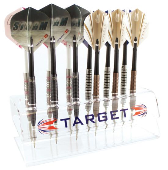 TARGET Perspex Counter Display