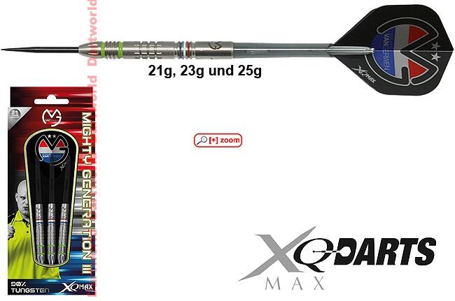 XQ-MAX MvG Mighty Generation III (Michael van Gerwen)