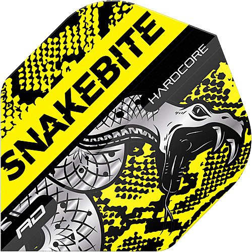 RED DRAGON Hardcore Snakebite Coiled Snake Yellow