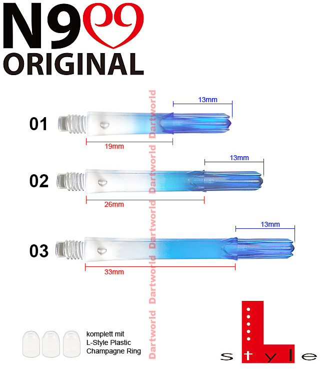 L-STYLE Shafts N9 G. Ocean Blue
