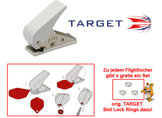 TARGET Flight Punch + Slot Rings
