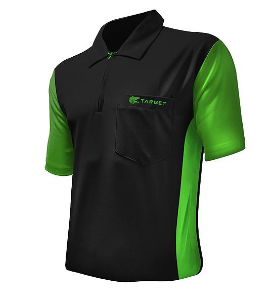 TARGET CP Hybrid 3 Shirt black / light green