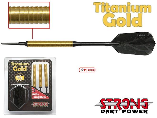 Softdart Titanium Gold