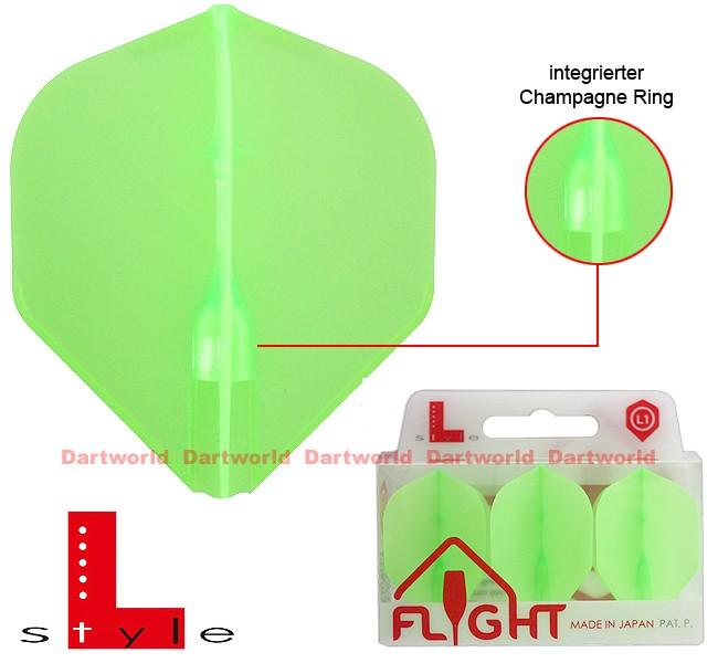 L-STYLE Champagne Flights L1 Standard EZ Green