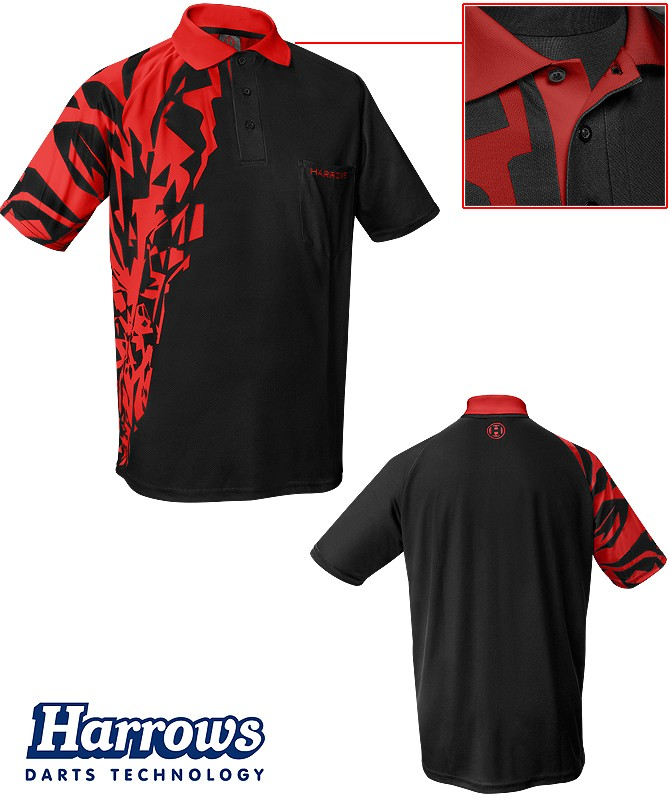 HARROWS Rapide Shirt red