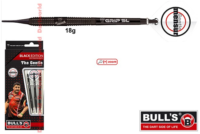 "BULLS Mensur Suljovic ""The Gentle"" Black Edition"
