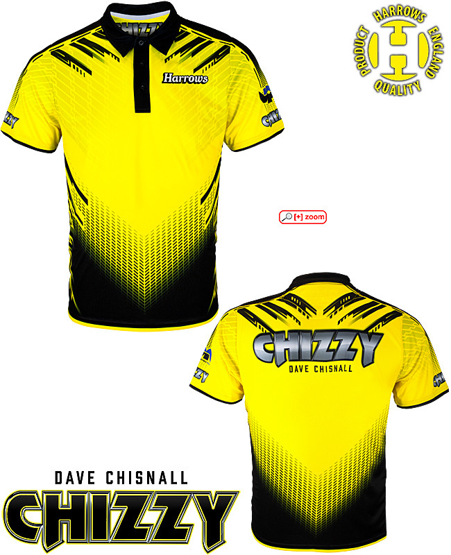 "HARROWS Dave Chisnall ""Chizzy"" Dartshirt"