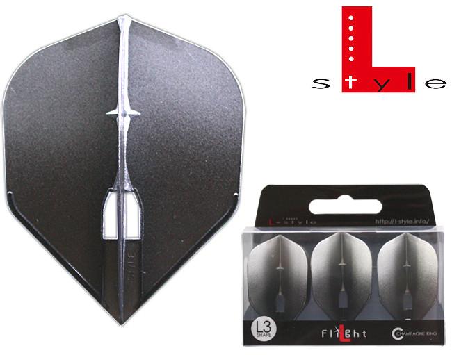 L-STYLE CF Two Tone L3Pro Shape Black/Silver