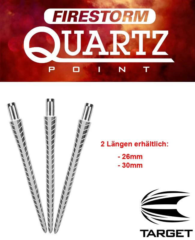 TARGET Firestorm Point Silver Quartz