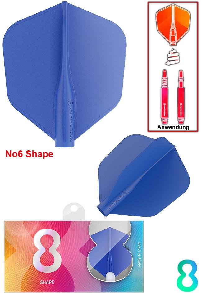 TARGET 8 FLIGHT Blue No6 Shape JP