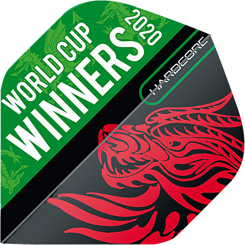RED DRAGON Hardcore World Cup Winners