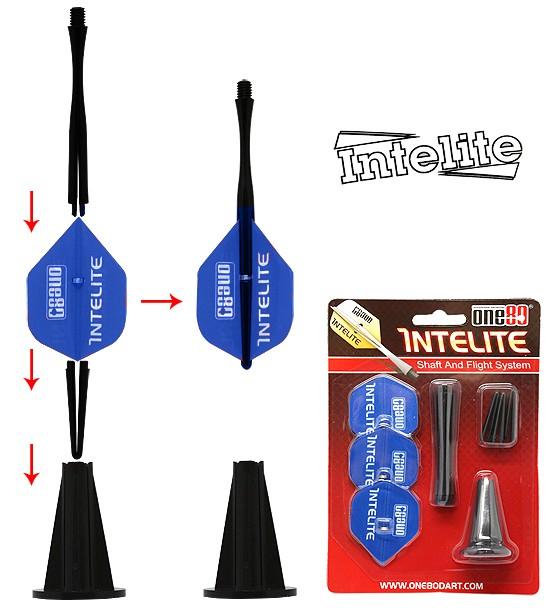one80 Intelite Starter-Set Standard blue