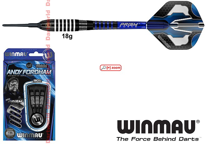 WINMAU Andy Fordham black