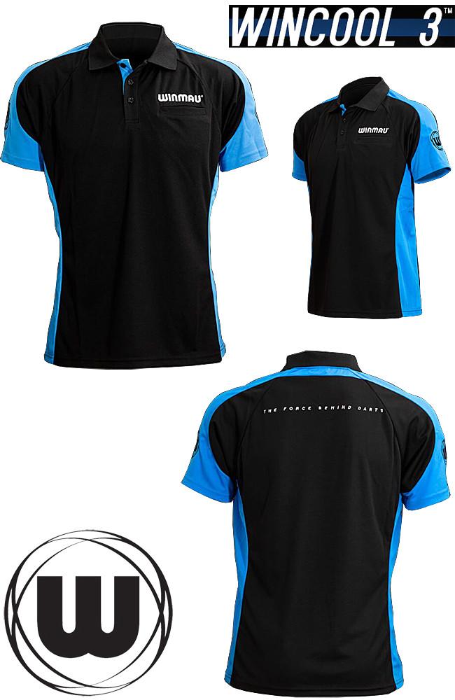 WINMAU Wincool 3 Shirt aqua blue