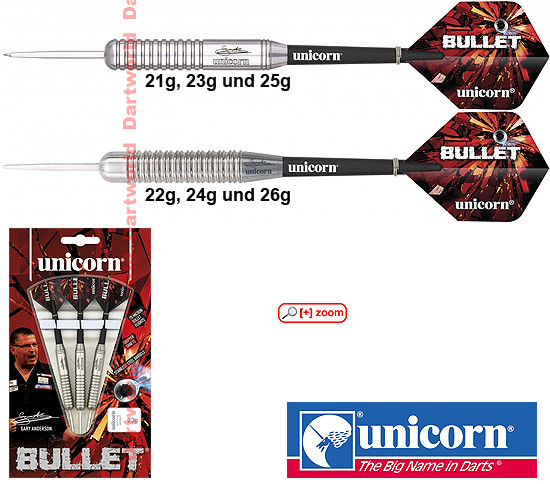 UNICORN Bullet Gary Anderson