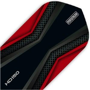 Pentathlon HD150 Flights red/black Slim