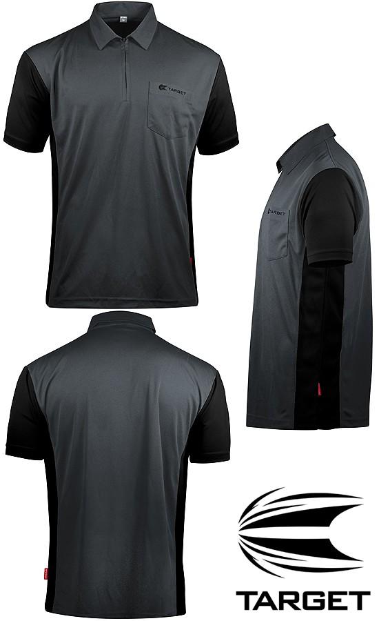 TARGET CP Hybrid 3 Shirt grey-black