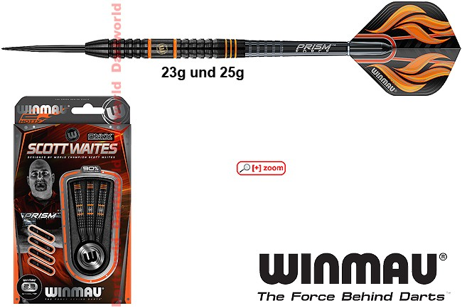 WINMAU Scott Waites black 90%