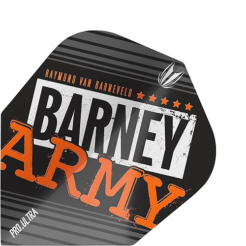 TARGET Barney Army Pro.Ultra Black TEN-X