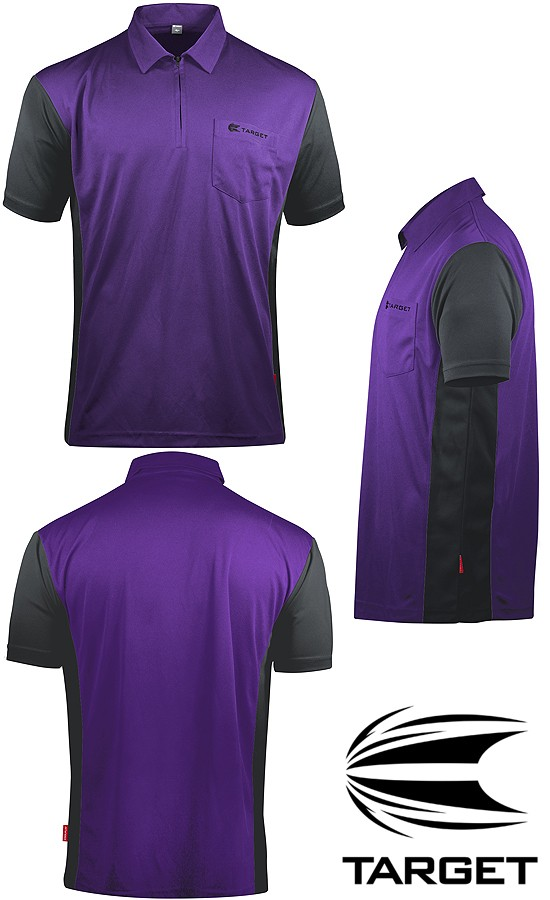 TARGET CP Hybrid 3 Shirt purple-grey