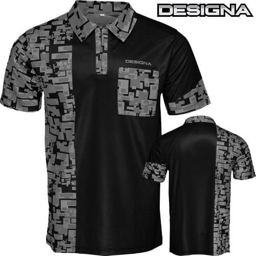 Designa Code 4 Dart Shirt grey