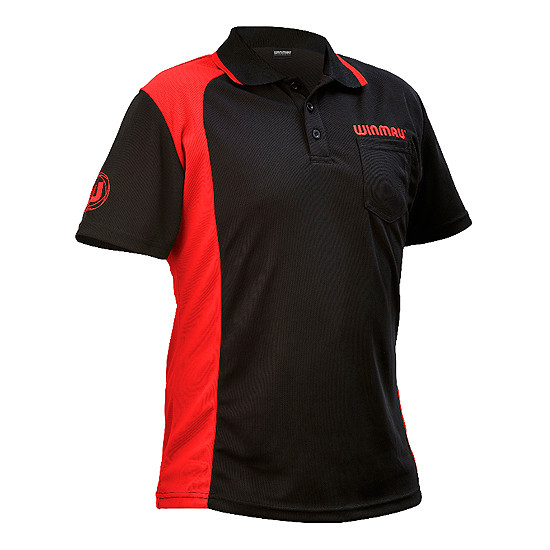WINMAU Wincool 2 Dartshirt red