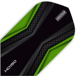 Pentathlon HD150 Flights green/black Slim