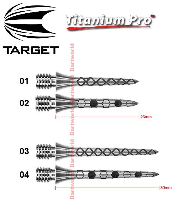 TARGET Titanium Pro Points