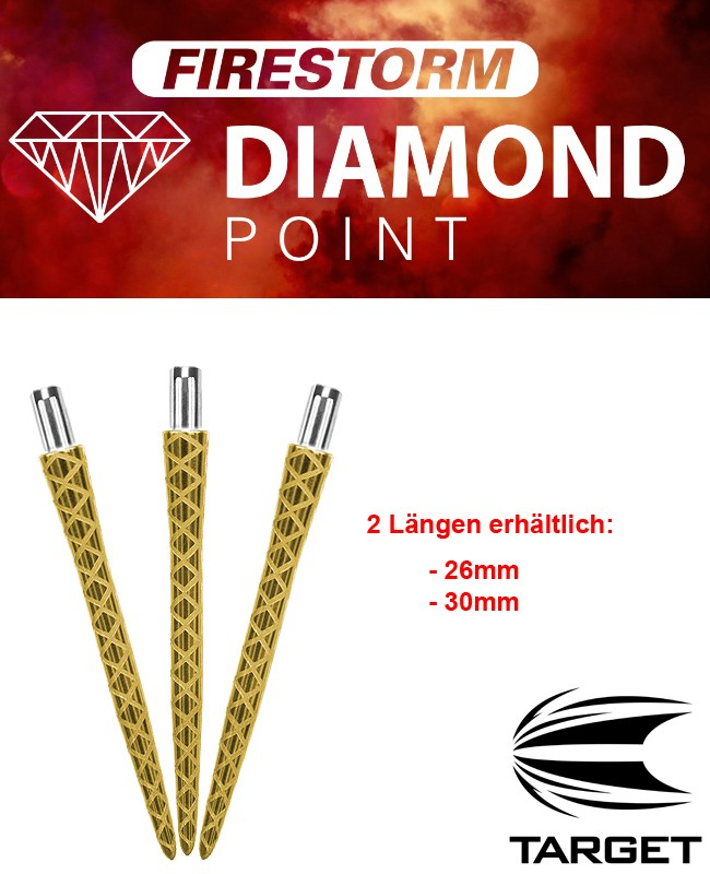 TARGET Firestorm Point Gold Diamond