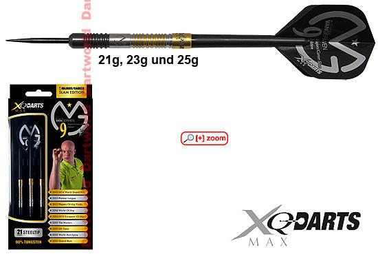 XQ-MAX Michael van Gerwen 9 Majors/Career Slam Edition