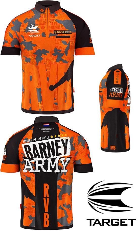 TARGET CP Shirt RVB Barney Army (Raymond van Barneveld) 2019
