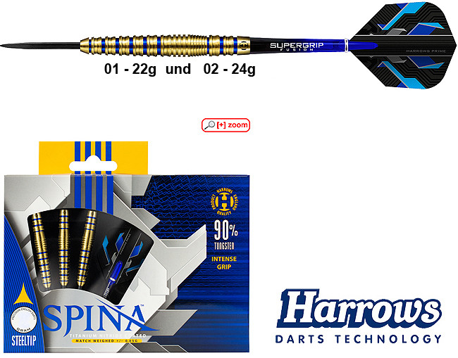 HARROWS Spina 90% gold