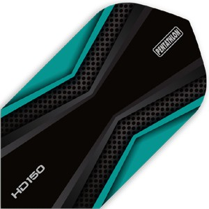 Pentathlon HD150 Flights aqua/black Slim