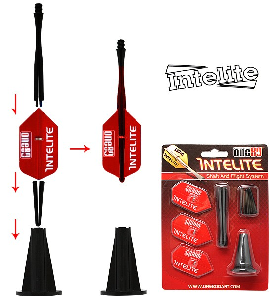 one80 Intelite Starter-Set Slim red