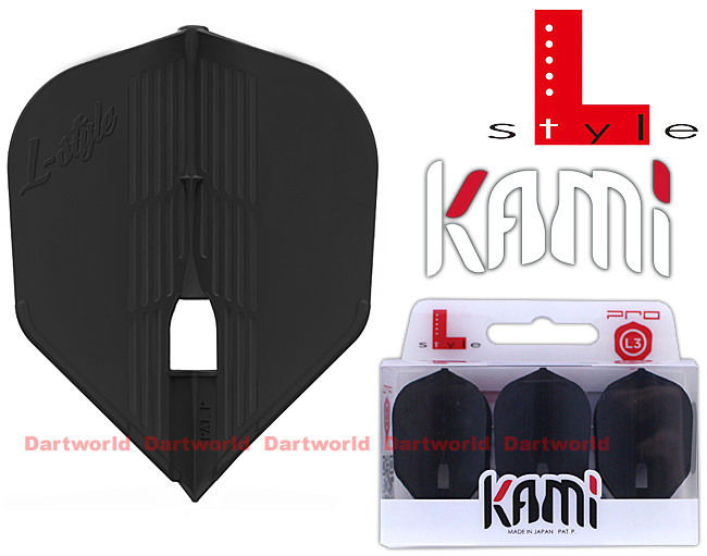 L-STYLE L3KPro Kami Shape Black